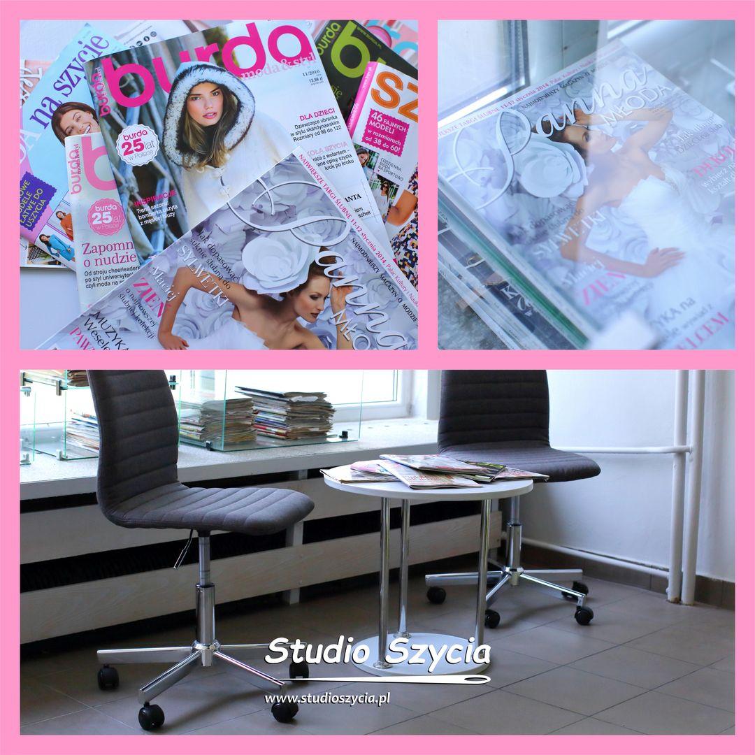 Moda, szycie, krawiectwo, czasopismo, gazeta, miesięcznik, prasa,